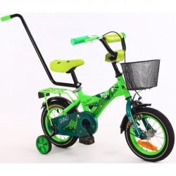 Dziecięcy rowerek z kółkami...