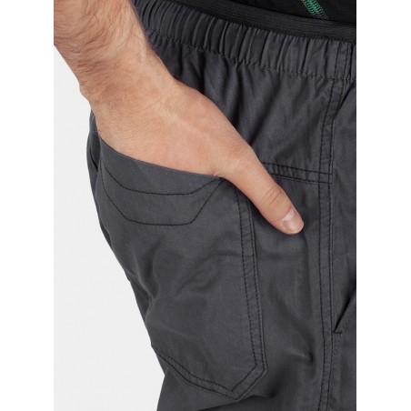 Spodnie męskie HANNAH BLOG dark shadow/anthracite