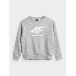 Dziewczęca bluza dresowa 4F...